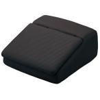 大垣産業[ボンフォーム]メッシュ生地・低反発ウレタン仕様フットレストボックス! シューズボックスとしてもお使い頂けます! 約15×32×34cm ブラック/黒