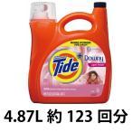 ショッピングダウニー (タイド洗剤) New タイドプラスダウニー (Tide plus Downy)(4.61L/約101回分) 柔軟剤入アメリカ製洗濯洗剤タイド