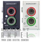 トイカメラ 二眼レフ風 デジタルカメラ BONZART AMPEL ボンザート アンペル