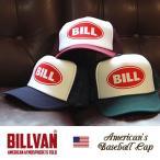ショッピングキャップ キャップ BILLVAN オールドアメリカン メッシュキャップ BILL−0810 ビルバン メンズ アメカジ