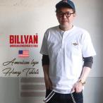 サマーセール 【クリックポスト可】BILLVAN オーセンティック・ヘンリーネックTシャツ ビルバン アメカジ