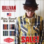 2017秋冬 BILLVAN ワークタイプ マドラスチェック ヘビーネルシャツ 002MDS チェックシャツ メンズ アメカジ ビルバン 送料無料