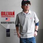 ラガーシャツ BILLVAN ヘビーコットン ダイヤロゴ ラガーシャツ ビルバン メンズ アメカジ