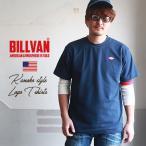 サマーセール 【クリックポスト可】BILLVAN ダイヤロゴ・ワッペン 鹿の子 Tシャツ ビルバン アメカジ