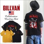 BILLVAN ビルバン×キン肉マン コラボレーション ウォーズマンボーリングシャツ メンズ アメカジ 送料無料