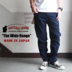 THE BACK WATER 日本製 レギュラーストレッチフィッシングデニムパンツ The Wide Range 105vm メンズ アメカジ 送料無料