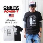 ONEITA 丸胴 パワーTボディー アメカジプリントTシャツ FAKY'S メンズ アメカジ