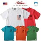 Tシャツ BILLVAN パトリオット・ポケットTシャツ COTTON USA 0417 メンズ アメカジ