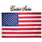 アメリカ 刺繍仕立て・ナイロン星条旗 フラッグ パトリオット US 国旗 オリンピック