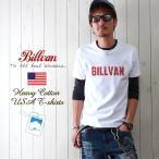 TシャツBILLVANヴィンテージロゴ へヴィーウェイトTシャツ COTTON USA 0312 メンズ アメカジ