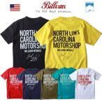 Tシャツ BILLVAN NORTH CAROLINA へヴィーウェイトTシャツ COTTON USA 0323 メンズ アメカジ