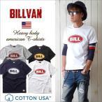 Tシャツ BILLVANアメリカンスタンダード BILL プリントTシャツ 28130 メンズ アメカジ