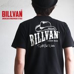 Tシャツ BILLVAN DENIM FACTORY HAT柄 バックプリント ヘビーTシャツ 310307SS ビルバン メンズ