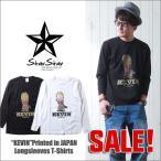StarStar MR.KEVIN イラストタッチ ロングTシャツ Printed in Japan メンズ アメカジ