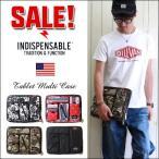 INDISPENSABLE インディスペンサブル マルチポケット ラップトップケース メンズ アメカジ 送料無料