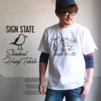 SIGN STATE ヘビーボディ DRIVE CARL Tシャツ サインステート アメカジ サーフ メンズ アメカジ