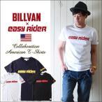 BILLVAN ビルバン×EASY RIDER ロゴ・プリント コラボレーション アメカジTシャツ メンズ アメカジ