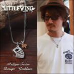 LITTLE WING トランプ・コンビカラー アンティークネックレス LW225 メンズ アメカジ 冬物
