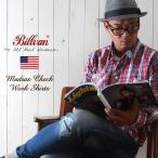 シャツ BILLVAN マドラスチェック ワーキング・チェックシャツ 31085A RED×NAVY メンズ アメカジ