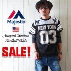 SALE Majestic NYヤンキース アメリカンゲームシャツ NY