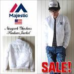 SALE Majestic マジェスティック NYヤンキース MA−1タイプ オフィシャルスタジアムジャンパー NY メンズ アメカジ 送料無料