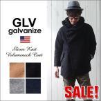 GLV/galvanize ガルバナイズ スライバーニット ボリューム・ネックコート メンズ アメカジ 送料無料 冬物