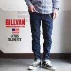BILLVAN #705 ワンウォッシュ スリムフィット デニムパンツ  ビルバン ジーンズ メンズ アメカジ 送料無料