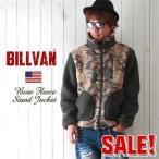ショッピングフリース BILLVAN オールド・フリースボア カモ柄 スタンド襟ジャケット 024c メンズ アメカジ