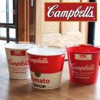 Campbells Soup インテリア バケツ キャンベル スープ