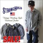 Yahoo!ブギースタイルジャケット STRONG HOLD ヴィンテージワークスタイル レイルロードジャケット ストロングホールド メンズ アメカジ