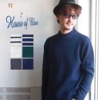 HOUSE OF BLUES ハウスオブブルース シェットランドウール クルーネックニット メンズ アメカジ