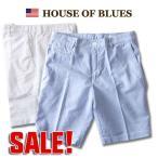 ショートパンツ HOUSE OF BLUES オックスフォード ショートパンツ メンズ アメカジ