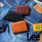 Lee リー イタリアン・レザーL字ファスナー カード&コインケース コンパクト 小銭入れ メンズ アメカジ