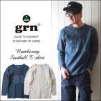 grn 同色ナンバリング 長袖フットボールTシャツ メンズ アメカジ/711039