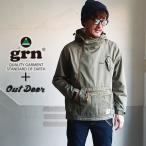 grn Outdoor高機能キャンパージャケット 難燃・撥水加工 アウトドア メンズ アメカジ