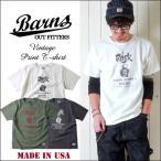 BARNS Made in USA ヘビーボディーROCK 半袖Tシャツ BR7124 メンズ アメカジ 送料無料