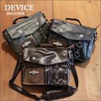DEVICE ワックスコーディング 2WAYツールバッグ メンズ アメカジ 送料無料