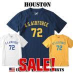 Tシャツ HOUSTON US AIR FORCE 72ナンバーリング ミリタリーTシャツ 21062 メンズ アメカジ