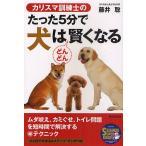 カリスマ訓練士のたった5分で犬はどんどん賢くなる/藤井聡