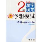 絶対合格プロジェクト 2級漢字検定ピタリ 予想模試