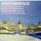 【輸入盤】Sonatas for Viol/D.Shostakovich(アーティスト)
