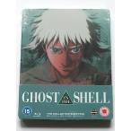 【アウトレット】GHOST IN THE SHELL/攻殻機動隊 ブルーレイ スチールブック 限定盤 輸入盤 日本語あり
