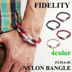 フィデリティ ロープブレスレット FIDELITY メンズ レディース ユニセックス カジュアル アウトドア