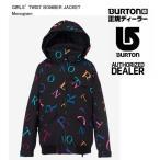 ショッピング予約 16-17 2017 Burton(バートン) GIRLS Twist Bomber JACKET (ガールズ・ツイストボンバー・ジャケット) Monogram スノーウェアー ジュニア 子供
