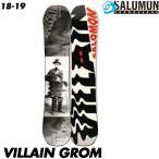 18-19 サロモン ビレイン グロム SALOMON VILLAIN GROM スノーボード スノボ 板 ジュニア キッズ 子供用 国内正規品