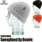 予約商品 19-20 ボルコム スイープライン ビーニー 帽子 ニット帽 Volcom Sweeplined By Beanie L5852000 BLK/HGR/ORG ジュニア 子供用 2020