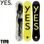 18-19 イエスナウボード タイポ YES. TYPO YES NOW BOARD スノーボード スノボ 板 メンズ 男性用 2019_152cm