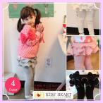 Yahoo!キッズハート子供服 2重スカート付き十分丈レギンスキッズ 女の子 スカッツ 2重フリル  送料無料 売れ筋 新商品