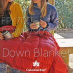 CanadianEast カナディアンイースト ダウンブランケット CEA5001 防寒/観戦/アウトドア/巻きスカート/雪/部屋着/暖か/ひざ掛け/携帯