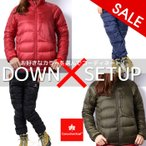 インナーダウン 上下セット ジャケット ダウンパンツ 登山 セットアップ ファッション レディース 女性用 アウトドア カナディアンイースト CEW2086W CEW3512PA